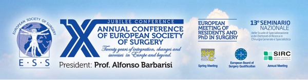 X ANNUAL CONFERENCE OF EUROPEAN SOCIETY OF SURGERY